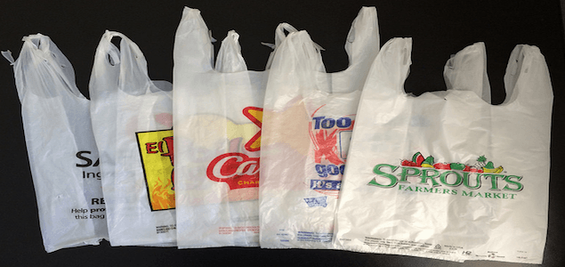 Goodbye to plastic bags